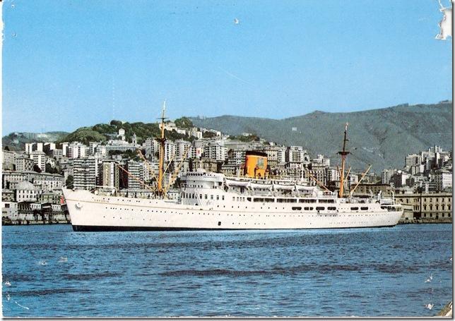 Esperia, 9314 tons, 472 passengers