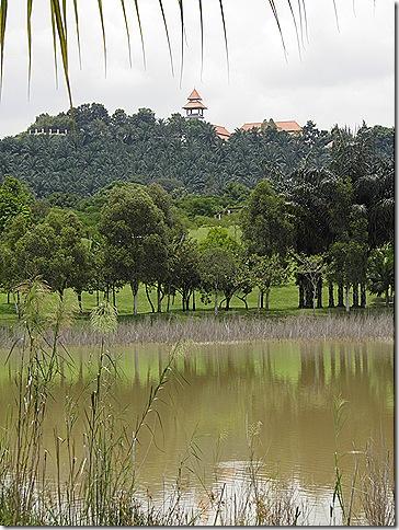 Istana Melawati atop Taman Putra Perdana