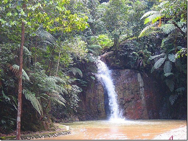 Jeriau Waterfall, Fraser's Hill
