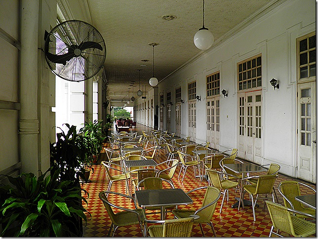 The Majestic's rooms open out onto this enormous verandah.