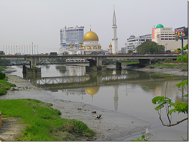 Klang River. Nearly at the sea.