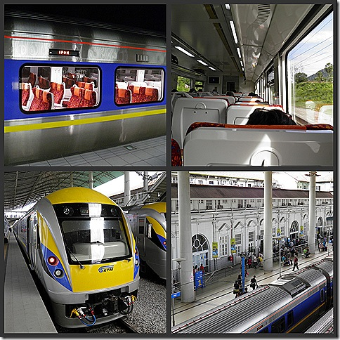 The New KL/Ipoh Train