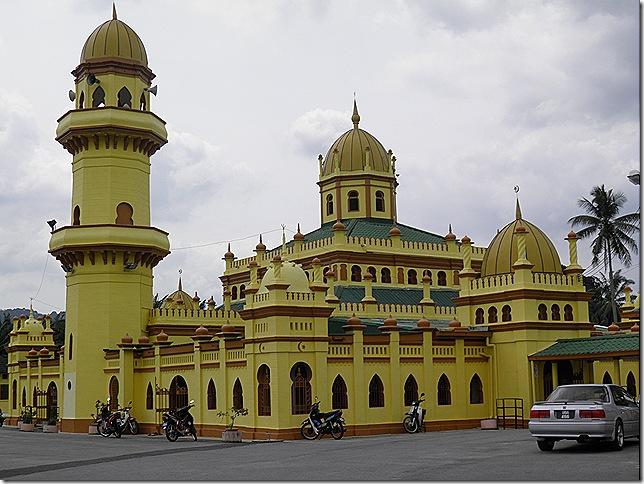 Ala'eddin Mosque, Bandar