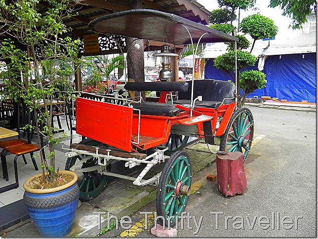 Haji Samuri's transportation.