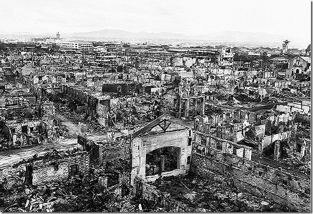Manila, liberated but destroyed.