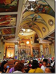 Interior of Binondo Church
