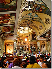 Interior of Binondo Church