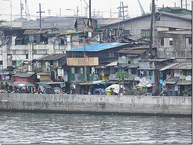 Squatter area in Tondo.