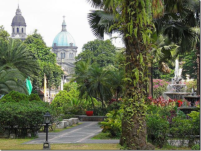 Plaza Moriones inside Fort Santiago