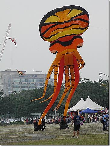 Putrajaya Kite Festival Feb 2011