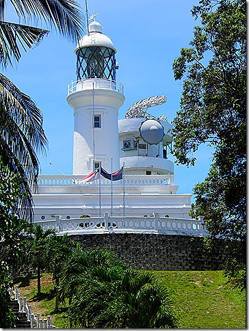 Lighthouse at Cape Rachado