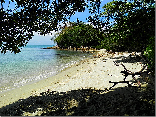 Pulau Intan Beach at Cape Rachado