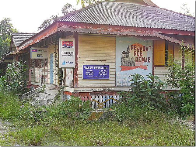 Former post office at Gemas.