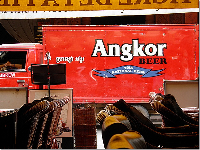 In Cambodia they sell Angkor and Anchor.