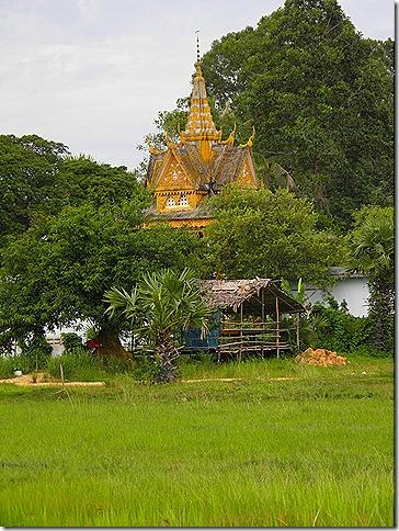 A rural temple.