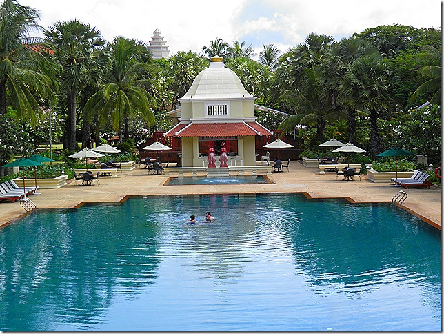 Pool at the Grand Hotel D'Angkor