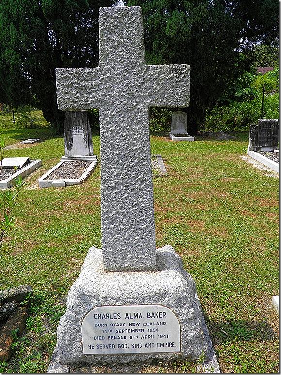 Batu Gajah Christian Cemetery