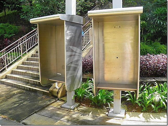 Redundant phone booths.
