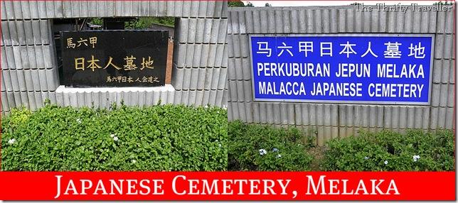 Japanese Cemetery in Melaka