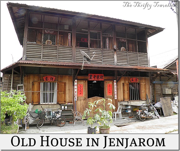 There are not many attractions in Jenjarom apart from the Temple.