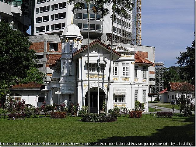 Pakistan High Comission in Kuala Lumpur.