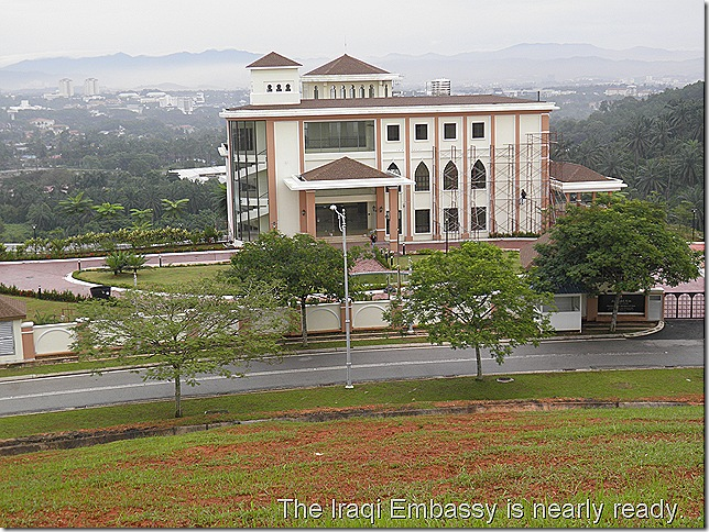 The soon-to-be Iraqi Embassy in Putrajaya.