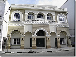 Restored Mercantile building.