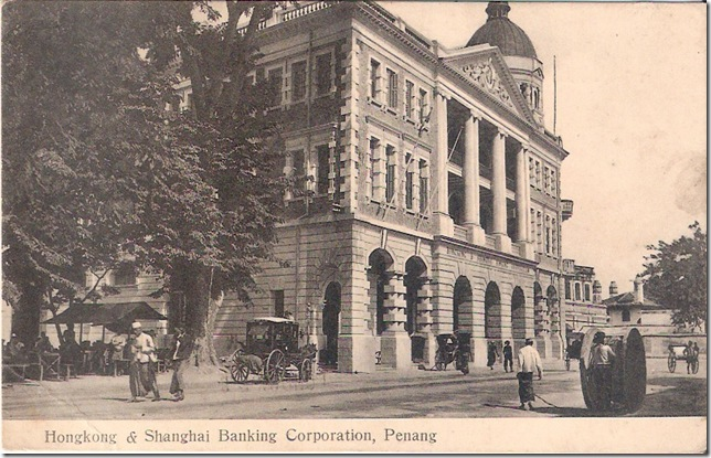 HSBC Penang in 1910