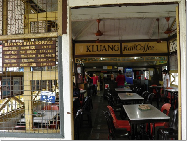 The original Kluang Rail Coffee