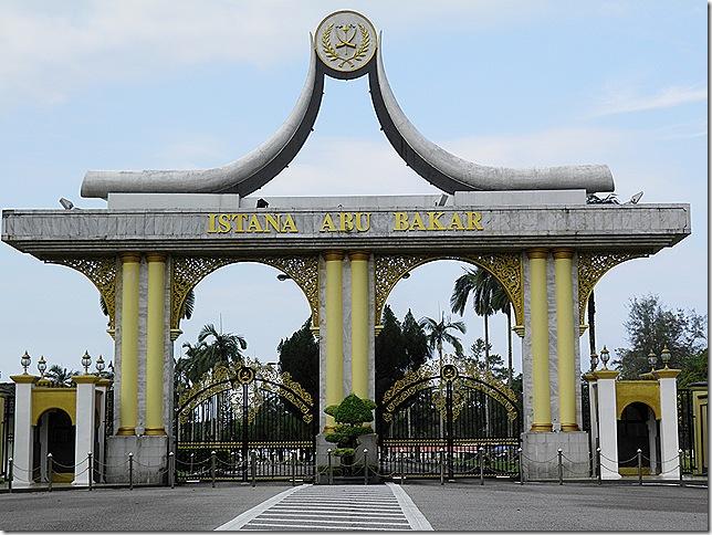 Istana Abu Bakar, Pekan