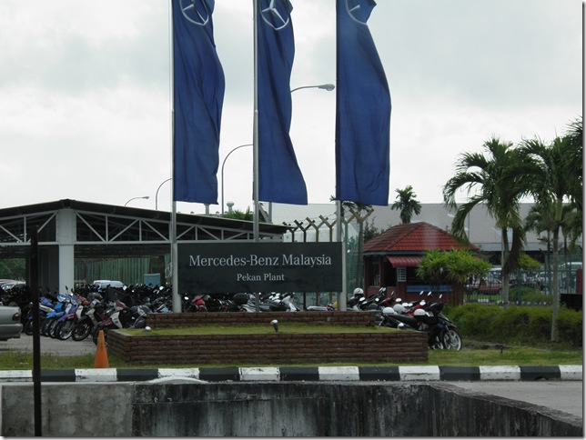 Mercedes-Benz assembly plant, Pekan