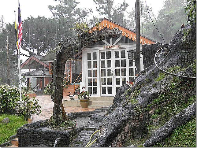 Bucketing down on Bukit Larut