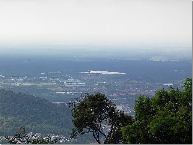 View on the way down from Bukit Larut.