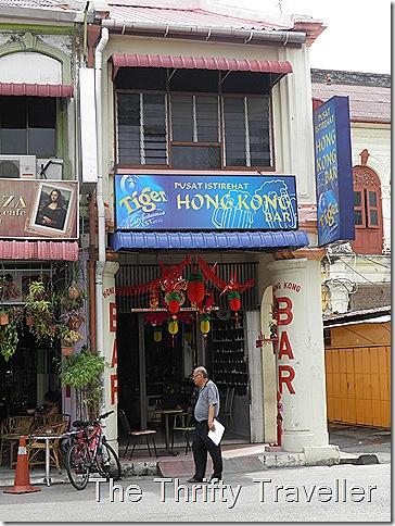 Hong Kong Bar, Chulia Street, Penang