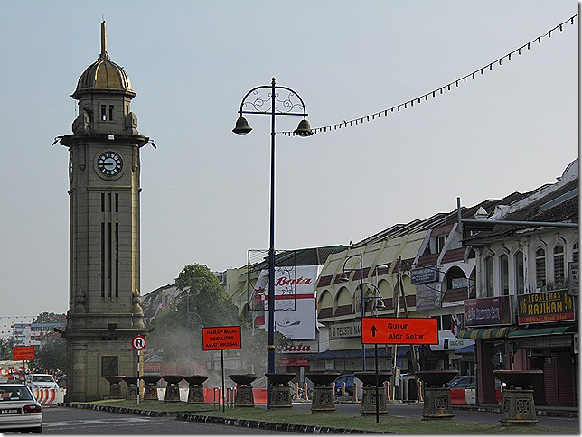 Sungai Petani clock tower.
