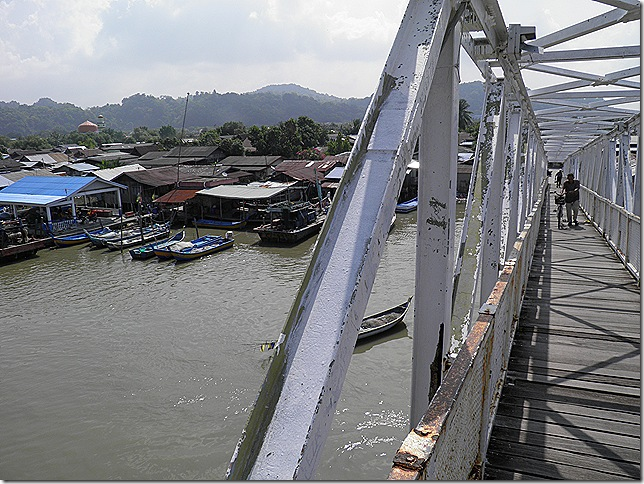 Rickety Bridge over the Perlis River