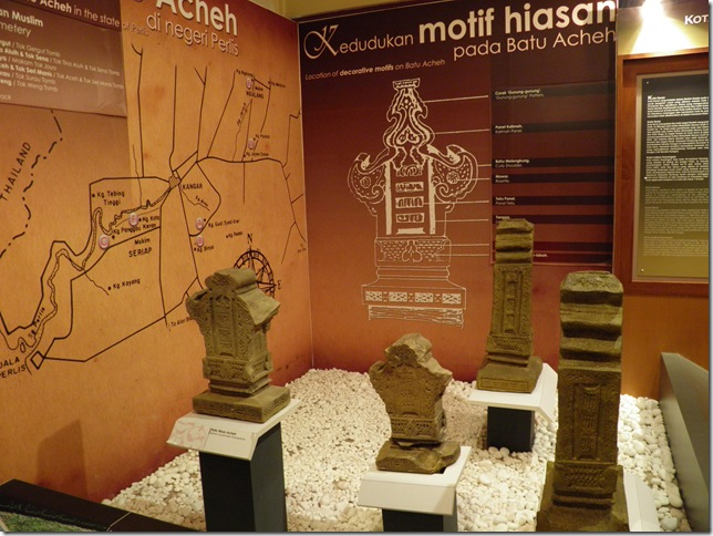 Muslim cemetery headstones, Kota Kayang