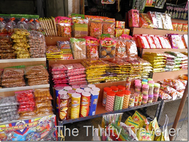 Thai snacks at Wang Kelian