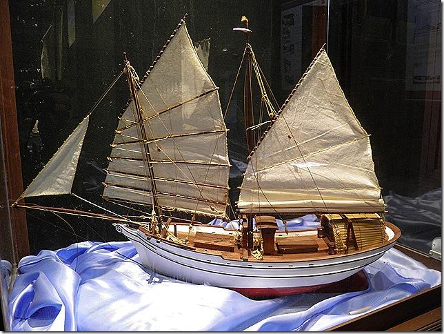 Boat Model at Pulau Duyong