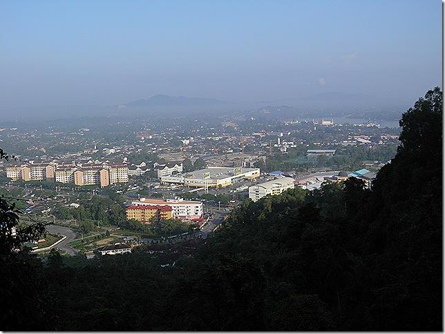 View from Bukit Besar