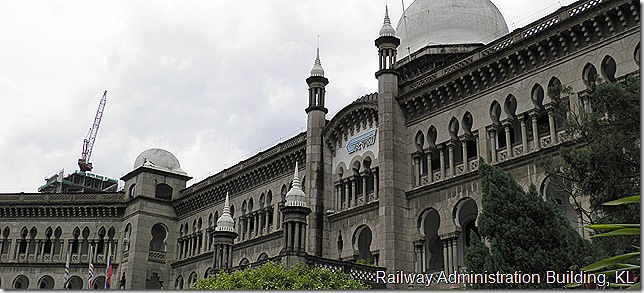 Railway Administration Building, KL