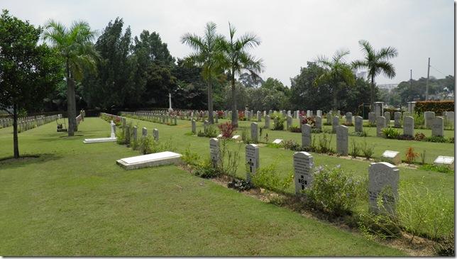 Commonwealth War Graves at Kuala Lumpur Cheras Road Civil Cemetery