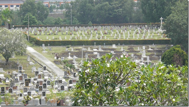 The CWGC section is in the background.