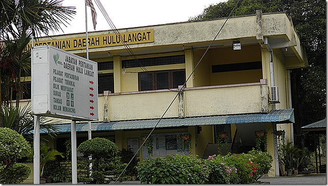 Department of Agriculture building, Hulu Langat district