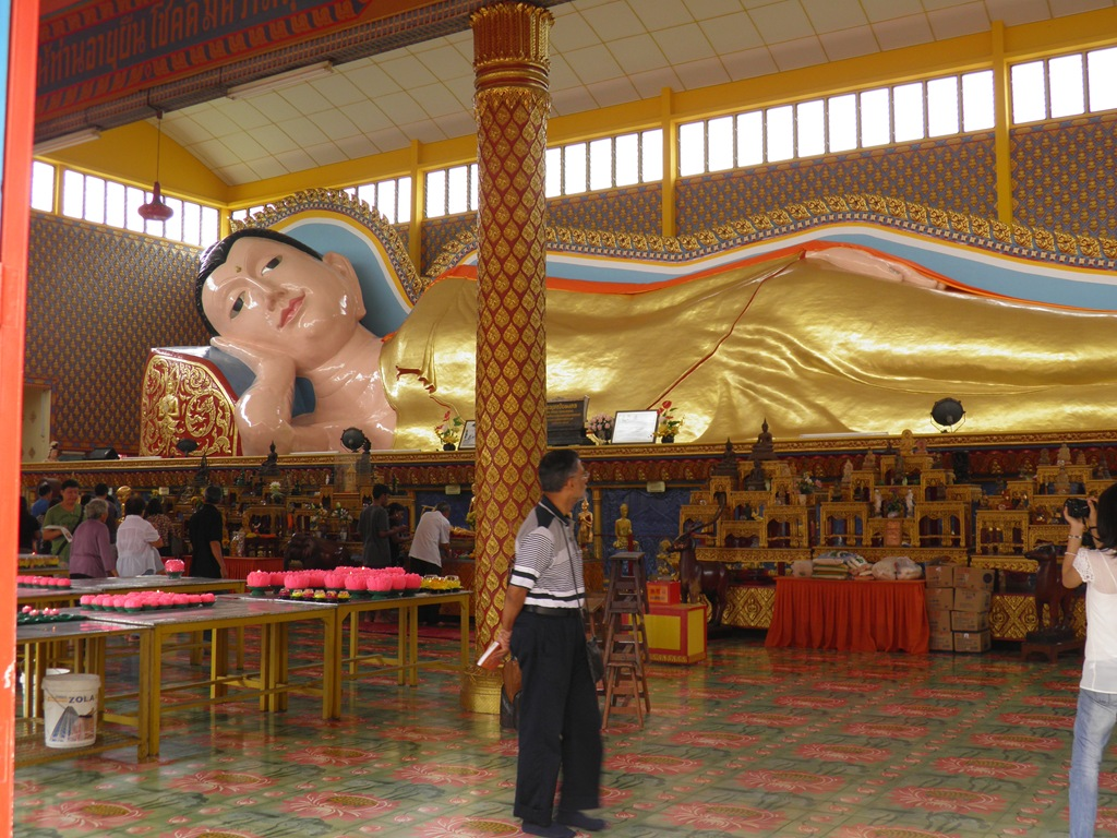 Wat Chaiyamangalaram Penang Malaysia  sc 1 st  The Thrifty Traveller - WordPress.com & List of Asiau0027s Largest Reclining Buddha Statues | The Thrifty ... islam-shia.org