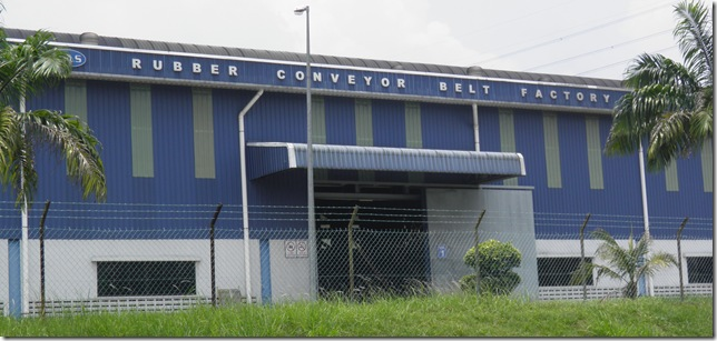 Rubber Conveyor Belt Factory.