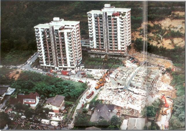 The Star newspaper photo of the Highland Towers Tragedy. KENNETH TOO/AIR PORTFOLIO