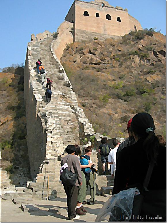 Plenty of uneven steps