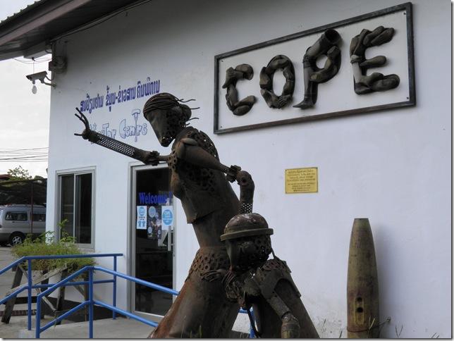Cope Visitor Centre, Vientiane