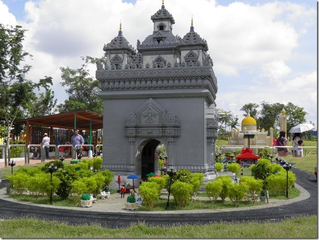 Anousavari Monument or Patuxay, Vientiane, Laos